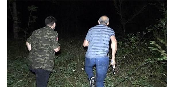 Gasp Şüphelisi 1'İ Kadın 2 Şüpheli Yaya Olarak Ormanlık Alana Kaçtı