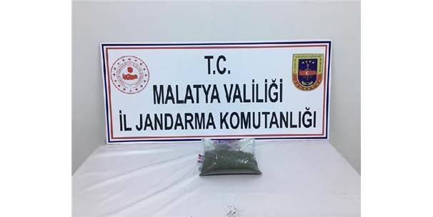Malatya'da 400 Gram Esrar Ele Geçirildi