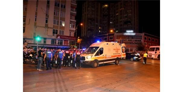 Otomobil İle Çarpışan Motosikletli Yunus Polisi, Yaralandı