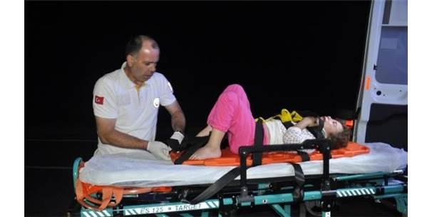 Kazada Yaralandı, 'Önce Çocuklarıma Bakın, Ben İyiyim' Dedi