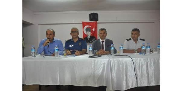 Gönen'de Okul Güvenliği Toplantısı Düzenlendi