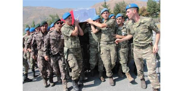 Şehit Uzman Onbaşı Sarı, Törenle Memleketine Uğurlandı