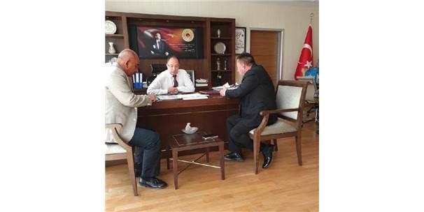 Başkan Beyoğlu, Ankara'da Temaslarda Bulundu