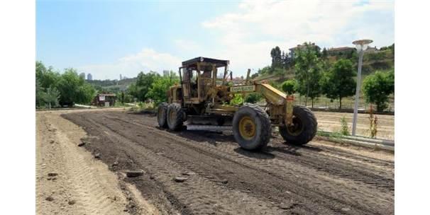 Çankaya'da 2 Bin 80 Metrelik Yeni Yol Açıldı