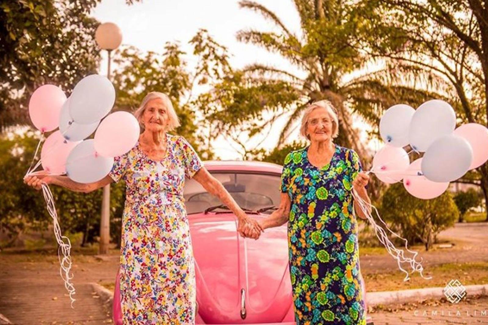 100 yaşındaki çıtır ikizler