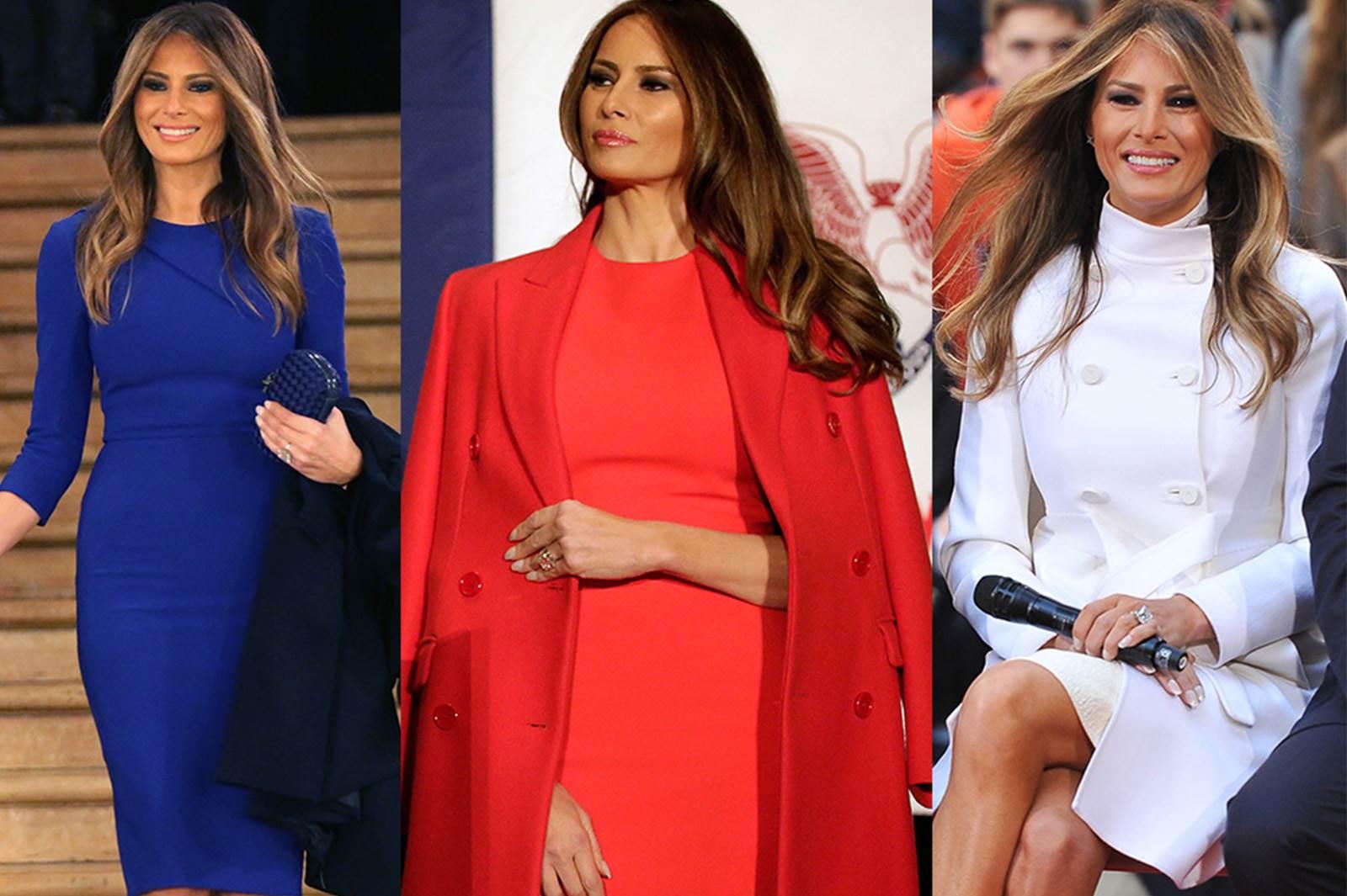 First Lady Melanie Trump'ın zamansız stili