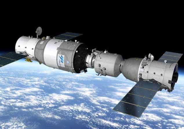 Çin Uzay İstasyonu Tiangong-1 Ocak ayında Türkiye'ye düşebilir