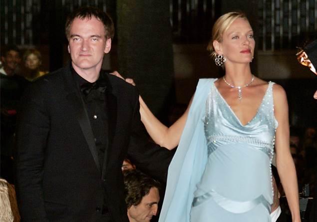 Quentin Tarantino, Uma Thurman'a büyük bir özgüvenle tükürmüş