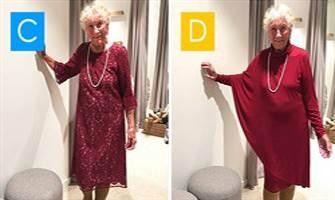93 yaşındaki kadın düğününde giyeceği kıyafeti oylamaya sundu