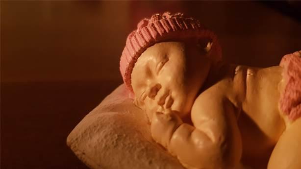 Artık doğmamış çocuğa 3 boyutlu heykel biçiliyor