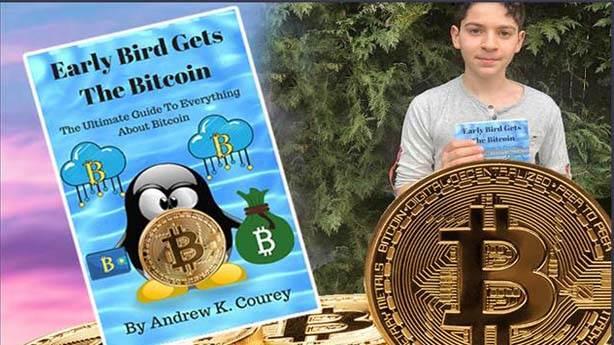 11 yaşında Bitcoin kitabı yazdı, 20 milyon dolar kazanırsa okulu bırakacak