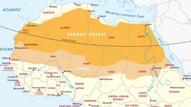 Sahra Çölü'nde meydana gelen akılalmaz olaylar