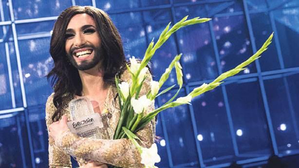 Eurovision birincisi Conchita Wurst'a 'HIV pozitif' şantajı