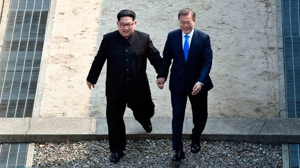 Kim Jong-un Güney Kore'ye geçen ilk Kuzey Kore lideri oldu