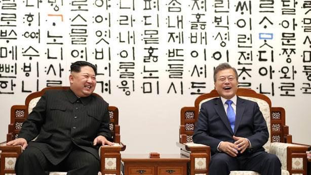 Kuzey Kore ve Güney Kore yakınlaşması sosyal medyayı salladı