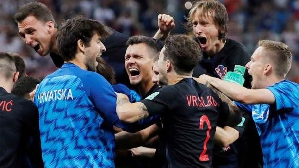 Hırvatistan iş ahlakı sayesinde Dünya Kupası finalinde