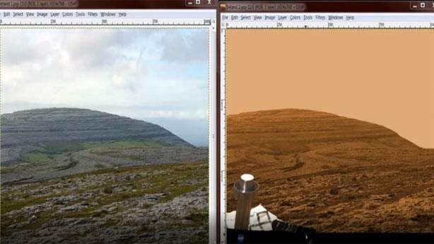 NASA'nın Mars fotoğrafları Kanada'da mı çekiliyor?