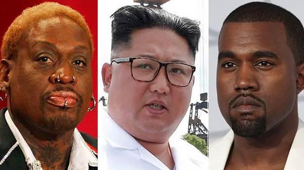 Kanye West Kuzey Kore'ye giderse bir daha dönmez