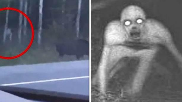 İnsan benzeri gizemli yaratık videosu tartışma yarattı