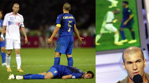Marco Materazzi, Zinedine Zidane'a yıllar sonra zeytin dalı mı uzatıyor?