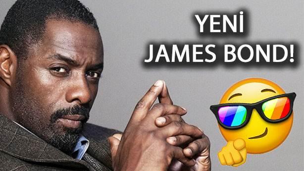 İdris Elba yeni James Bond olacak mı?