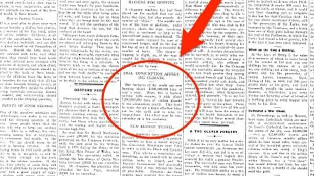 İklim değişikliğini 1912 yılında öngördü