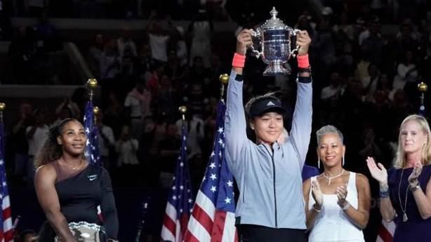 Sen mi büyüksün Serena Williams? Hayır o büyük o, Naomi Osaka!