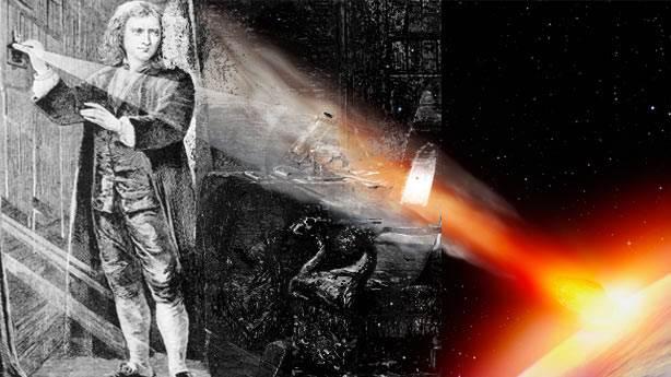 Sir Isaac Newton: '2060 yılında kıyamet kopacak!'