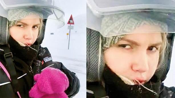 Aleyna Tilki iş çıkışı Kuzey Kutbu'na gitmeyi tatilden saymadı