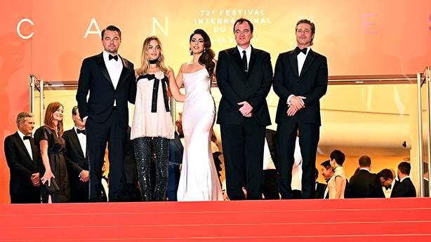 Quentin Tarantino Cannes'da: Yeni filme ilk eleştiriler pozitif!