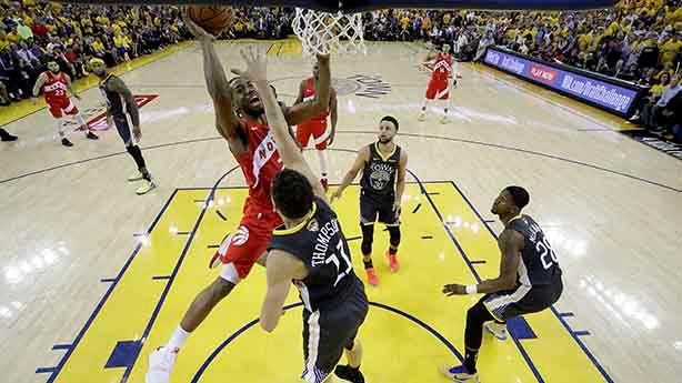 NBA'de şampiyon belli oldu: Toronto Raptors, Oracle'da kupa kaldırdı!
