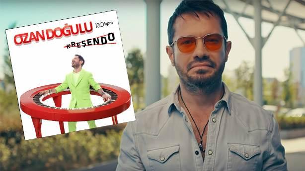 Ozan Doğulu'nun '130 BPM Kreşendo' albümünün yıldızı hangi şarkı?