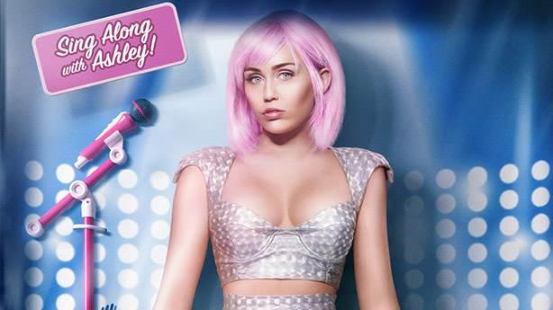 Miley Cyrus'tan bir alter ego daha: 'Ashley O'
