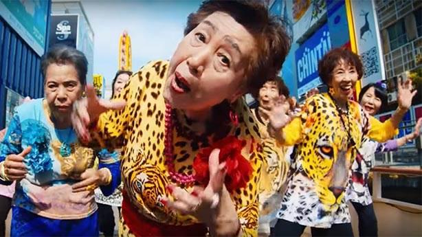 Rus ninelere rakip geldi: Japon 'babaanneler'