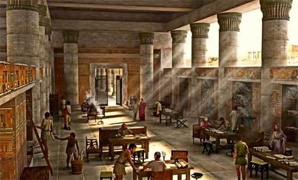 Antikçağlarda bilim üssü: İskenderiye Kütüphanesi