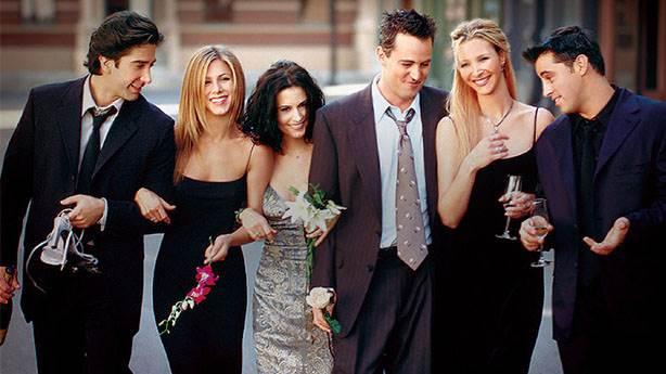Friends ekibi sadece 25. yıl anısına bir araya gelmemeli