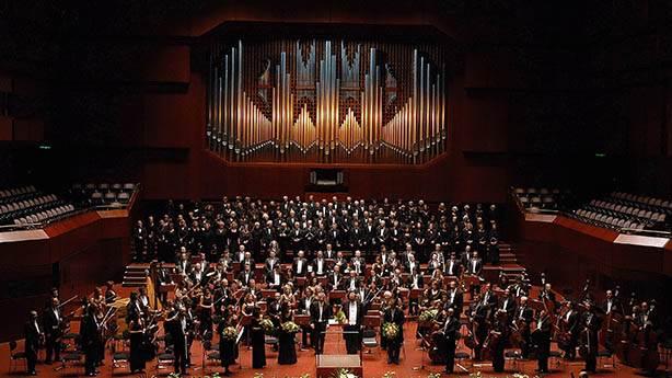 En şık Yeni Yıl Konseri: Cumhurbaşkanlığı Senfoni Orkestrası sahnede