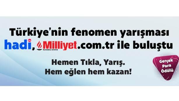 Hadi Milliyet'e gelin!