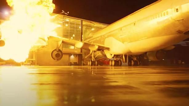 Christopher Nolan'ın yeni filmi 'Tenet'te gerçek bir uçak, bir binaya nasıl çarptı?
