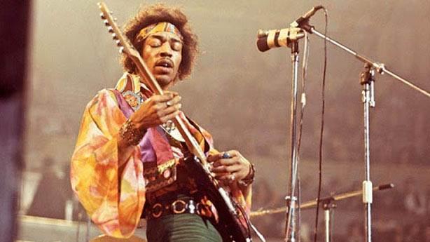 Efsanevi gitarist Jimi Hendrix 78 yaşında...