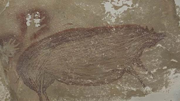 Dünyanın en eski mağara resmi yine Endonezya'dan