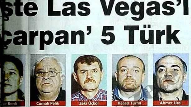 Las Vegas'ta kumarhaneyi milyonlarca dolar dolandıran Türkler
