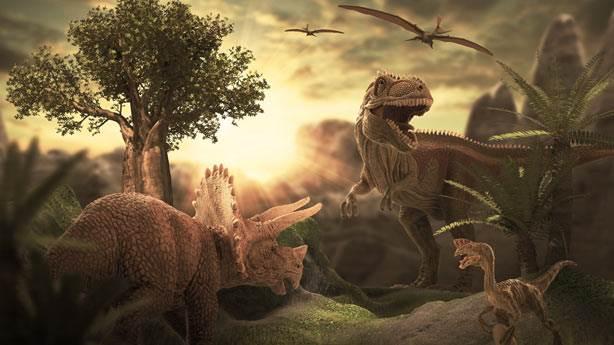 4. Kuzey Kutbu'nda bulunan dinozor fosili