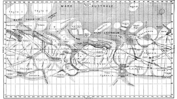 3. Mars yapay kanallarla çevrili bir gezegen