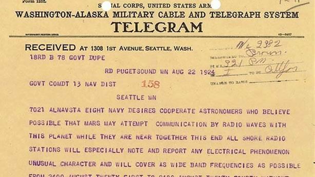 6. Marslılar 1924'te ABD Ordusu'na bi' 'Hi' bile demedi