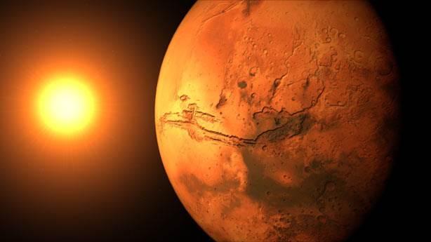 9. Göktaşında Marslı bakteri bulundu