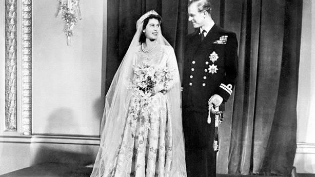 1- Prenses Elizabeth (Kraliçe II. Elizabeth), 1947