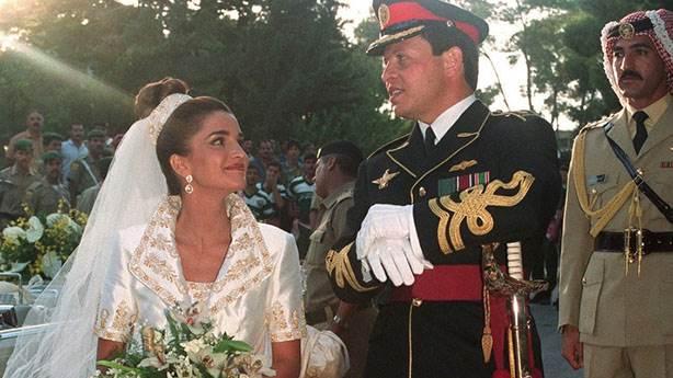 4- Ürdün Kraliçesi Rania, 1993