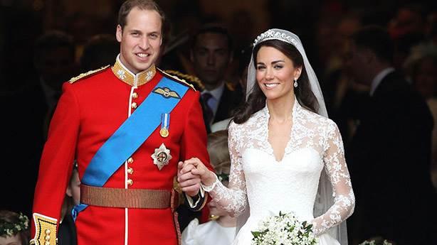 5- Kate Middleton ve Prens William rekor kırdı!