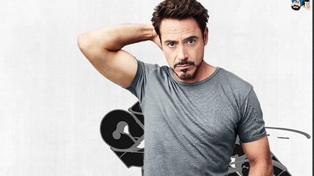 9- Robert Downey Jr. için doğum günü kartı